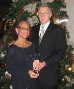 Bill and Tina Truesdale with President's Award